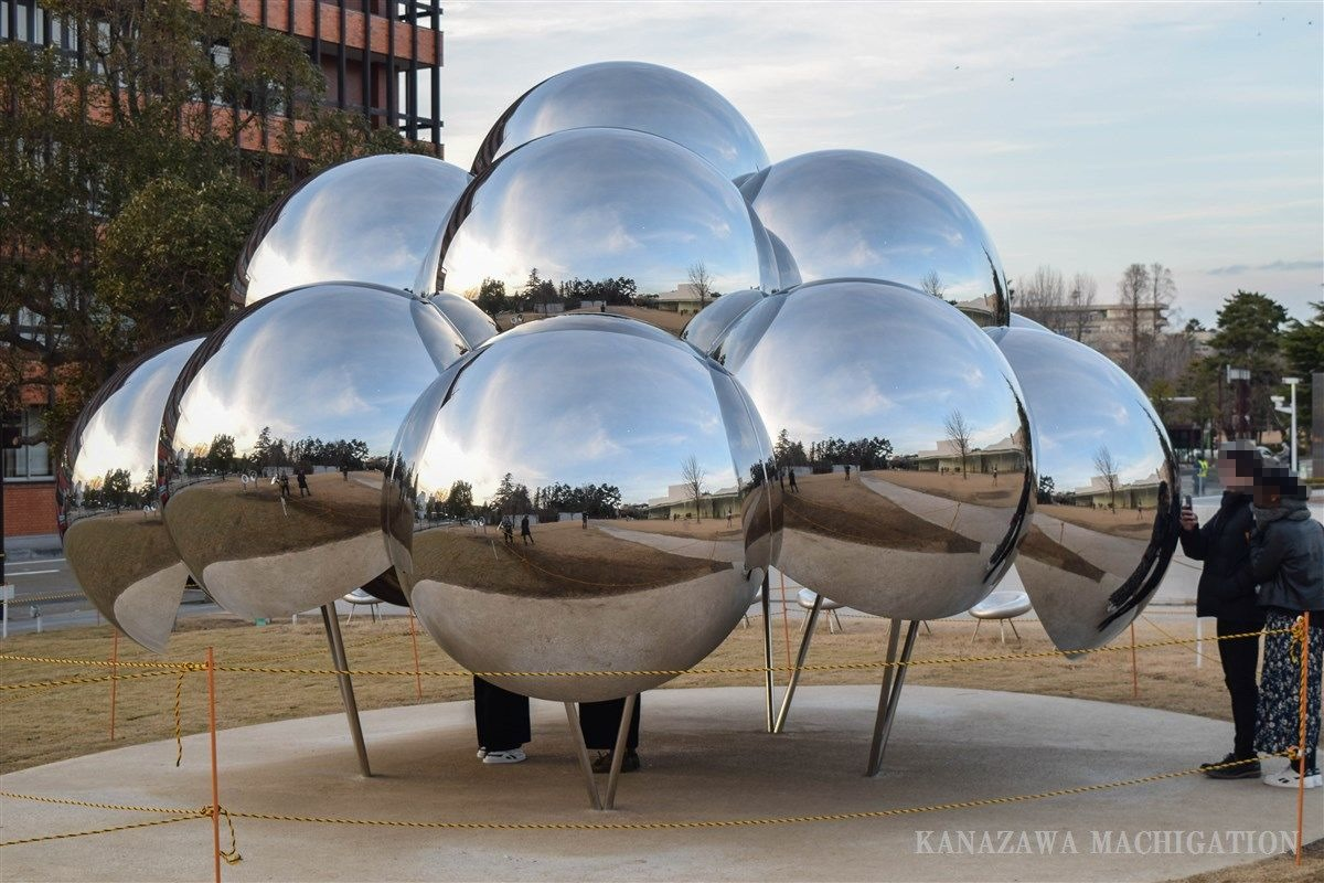 金沢21世紀美術館に新たなシンボル「まる」が誕生!